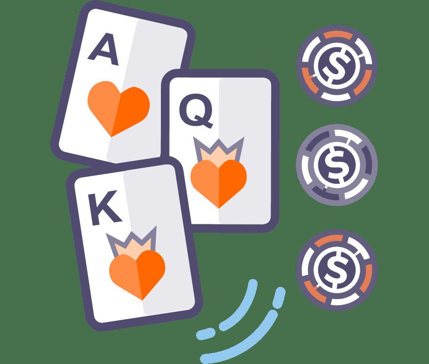 Los 57 mejores sitios de Casino de Póker de tres cartas en línea en Venezuela